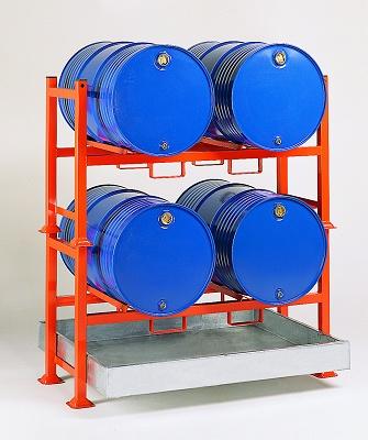 Foto de Soportes apilables para barriles