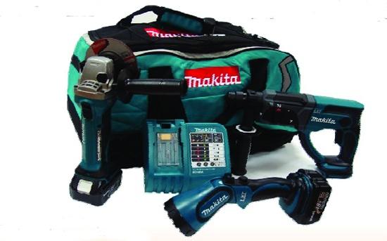 Foto de Taladro percutor con batería y cargador