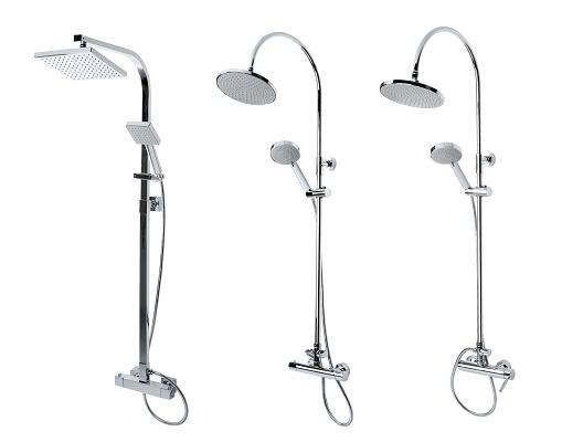 Columnas de ducha Genebre Series Kenjo, Tau y Tau2 - Materiales para ...