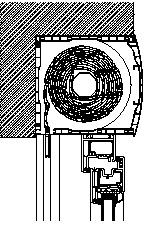 Fotografia de Calaixos per a persianes (sistema compacte)