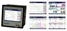 Foto de Controldor registrador de temperatura y procesos