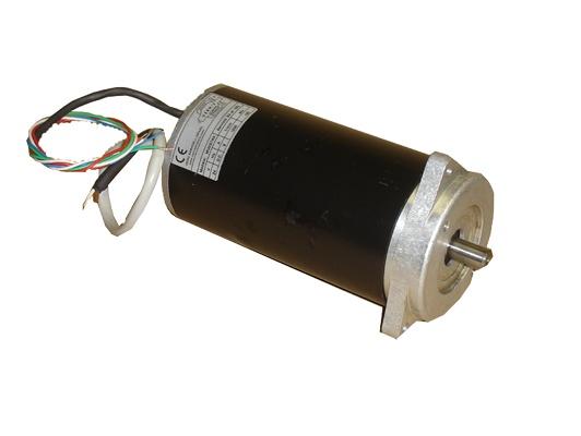 Foto de Motor con filtro antiparasitario y encóder