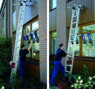 Foto de Escalera de montaje para vidrio