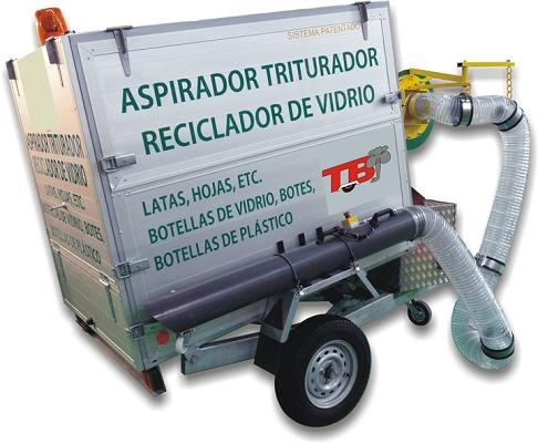 Foto de Aspiradores-- trituradores-recicladores a motor
