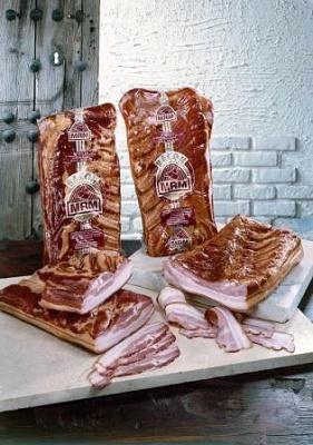 Foto de Bacon natural y bacon ahumado