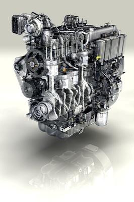 Fotografia de Motor per a maquinària d'obres públiques