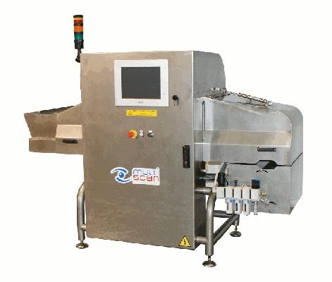 Foto de Máquina para la detección de huesos en aceitunas deshuesadas y posibles contaminantes