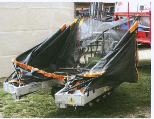 Foto de Plataformas recolectoras manuales de aluminio