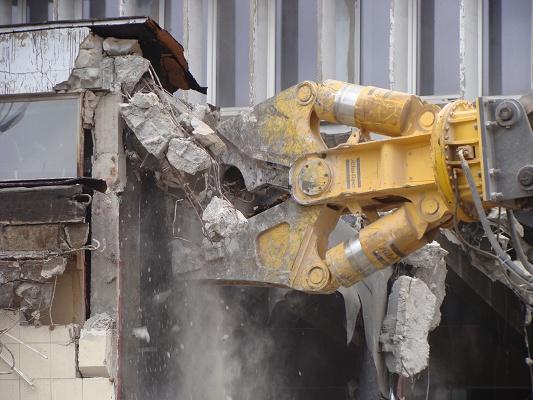 Fotografia de Mordasses de demolició hidràuliques