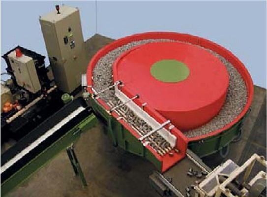 Foto de Máquina vibradora circular en continuo de cuba extralarga