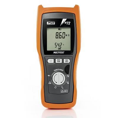 Foto de Instrumento combinado para medida de aislamiento, continuidad de los conductores de protección y función multímetro