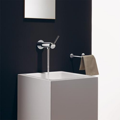 Foto de Monomando mural empotrado para lavabo