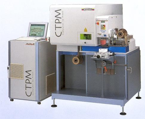 Foto de Máquina de impresión por tampografía