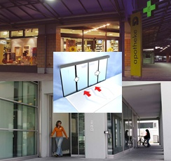 Foto de Puertas correderas con antirrobo
