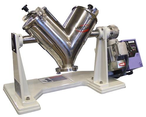 Foto de Mezclador de sólidos en V de laboratorio