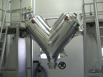 Foto de Mezclador de sólidos en V