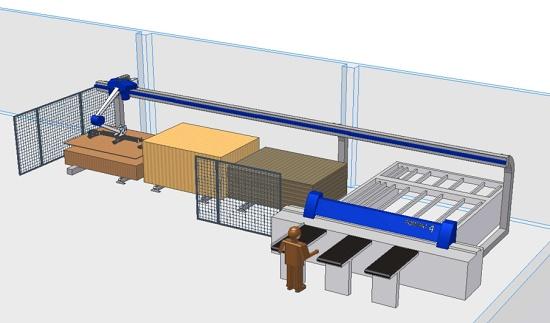 Foto de Almacenamiento automático de tableros