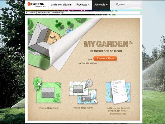 planificador automatico para sistemas de riego gardena my garden gardena plataforma horticom. Black Bedroom Furniture Sets. Home Design Ideas
