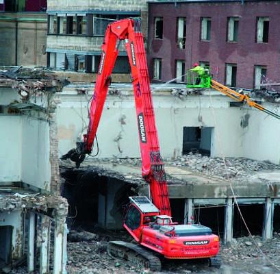 Foto de Excavadoras de demolición