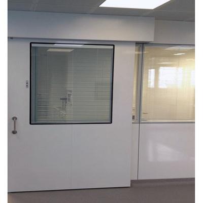 Puerta corredera sanitaria tan tsc1 materiales para la for Puertas semi macizas blancas