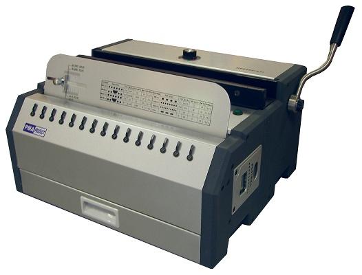 Foto de Perforadora de accionamiento eléctrico