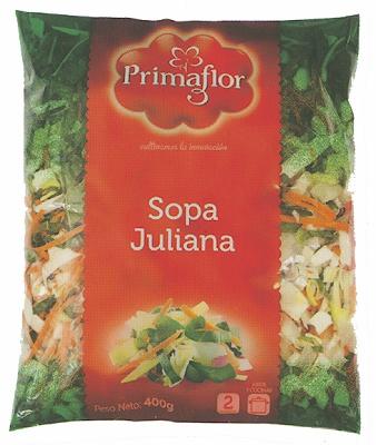 Foto de Sopa juliana de verduras