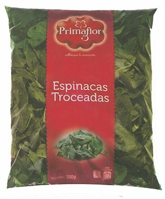 Foto de Espinacas troceadas