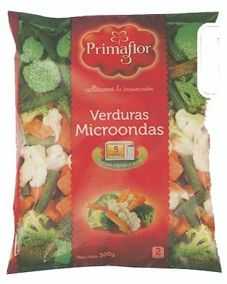 Foto de Verduras Microondas