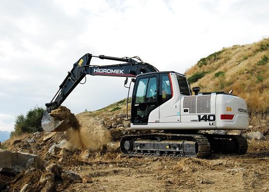 Foto de Excavadora de cadenas de 14 toneladas