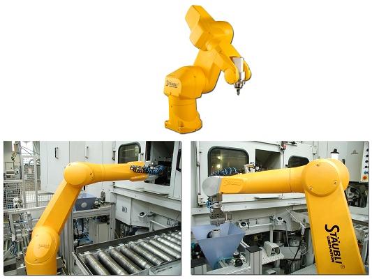 Foto de Robot de mecanizado