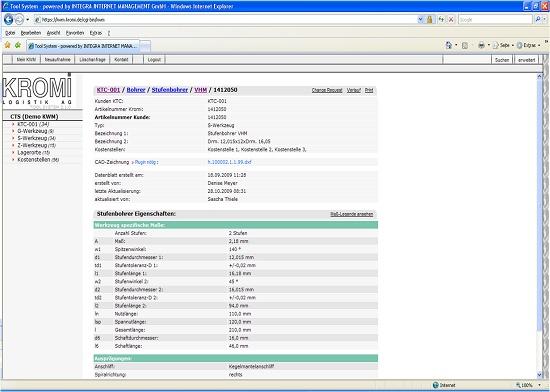 Foto de Programa de registro electrónico de herramientas
