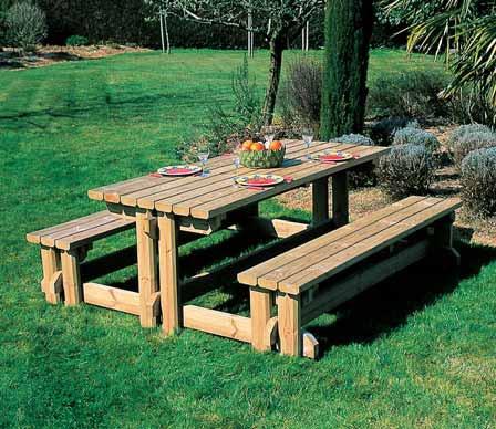 Foto de Mesas de madera