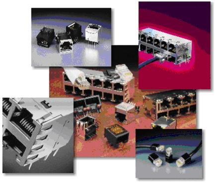 Foto de Conectores Ethernet