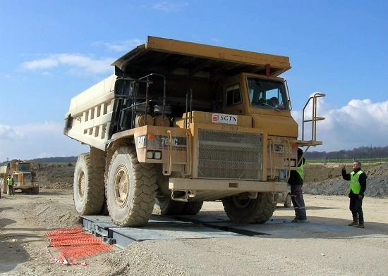 Foto de Sistema de pesaje para camiones dumper