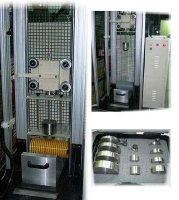 Foto de Equipo para determinación de resistencia al choque de tubos termoplásticos