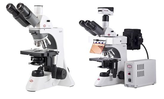 Foto de Microscopio biológico