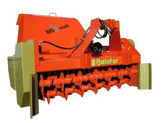 Foto de Trituradora con recogedor para biomasa