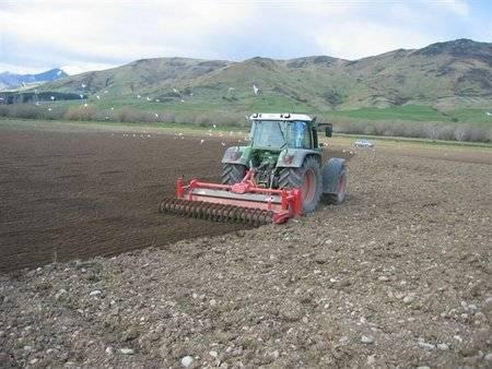 Foto de Enterradoras de piedras para tractores