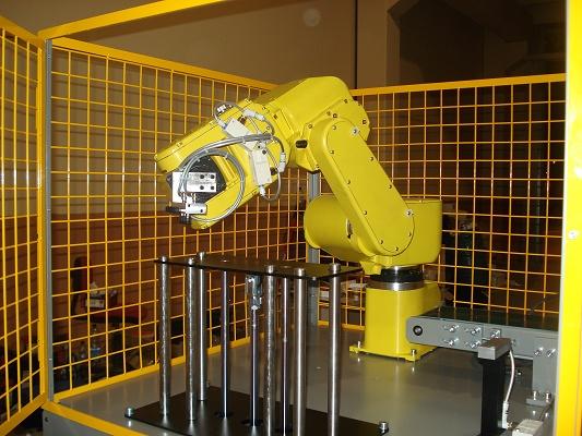 Foto de Células de montaje con robots