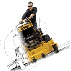 Picture of Lawnmowers Rotary presses autoportantes of lateral expulsion