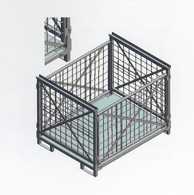 Foto de Caja con rejas
