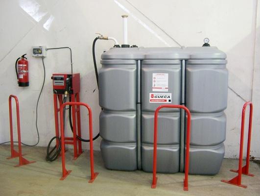 Foto de Instalación de almacenamiento y suministro de combustible