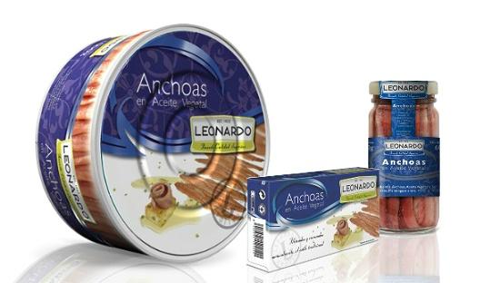 Foto de Anchoas en aceite vegetal