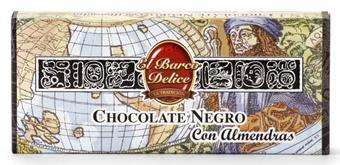 Foto de Chocolate negro con almendras