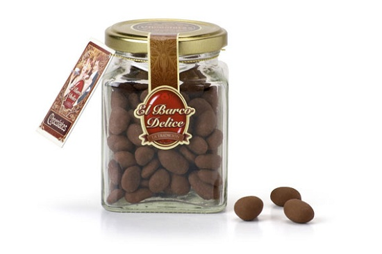 Foto de Bombones de pasas con chocolate