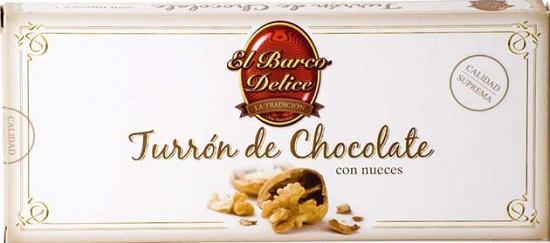 Foto de Turrones de chocolate con nueces