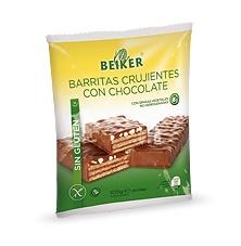 Foto de Barritas crujientes sin gluten con chocolate