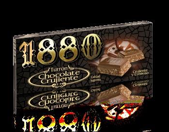Foto de Turrones de chocolate crujiente