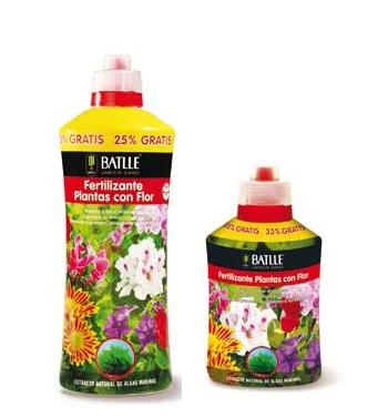 Foto de Fertilizante plantas con flor