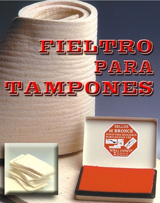 Foto de Fieltro para tampones